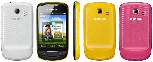 Samsung Corby S3850 2
