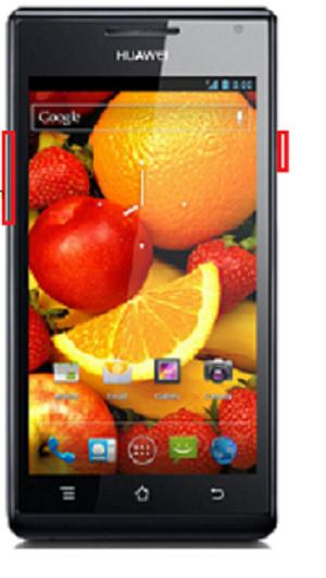 Huawei Ascend P1 U9200 hard reset