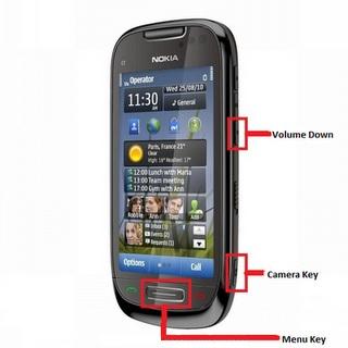 Nokia 808 PureView hard reset