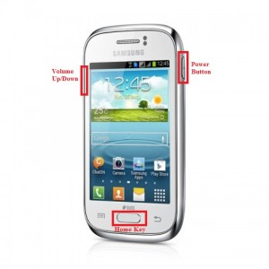 Samsung Galaxy Y Plus S5305 buttons