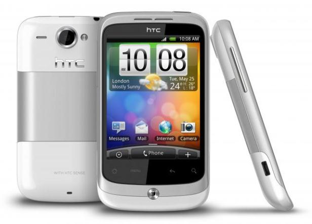 htc wildfire complete
