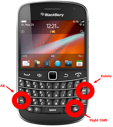 Image result for blackberry hard reset code