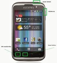 alcatel_alcatel_ot_991_keys