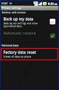 Huawei Honor 3C Factory Reset
