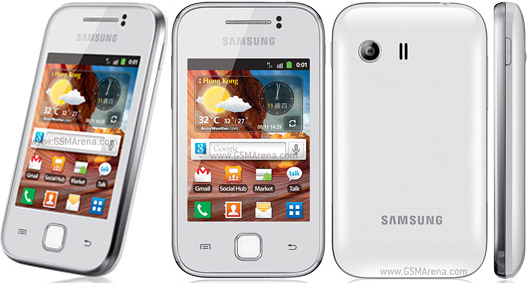 the Samsung Galaxy Y S5360