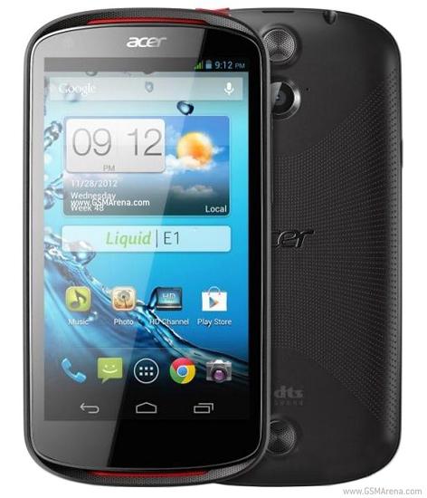 Acer Liquid E1 Software Refresh