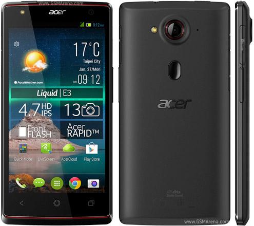 Acer Liquid E3 Dual SIM Software Restore