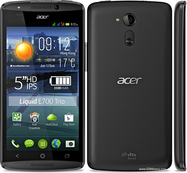 Hard resetting the Acer Liquid E700 Dual SIM