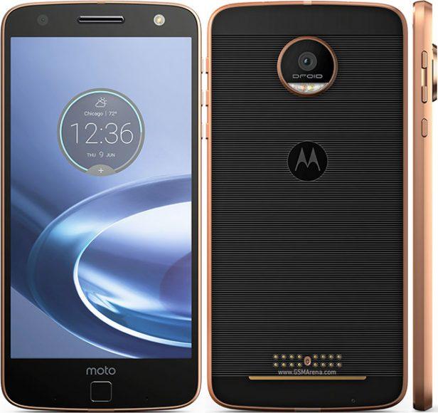 Soft reseting the Motorola Moto Z Force - Hard Resets